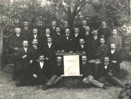 Foto der Gründer des KLT von 1881